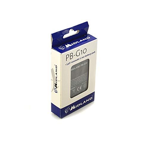 Midland PB-G10 - Batería para walkie Talkie (1200 mAh) Color Negro