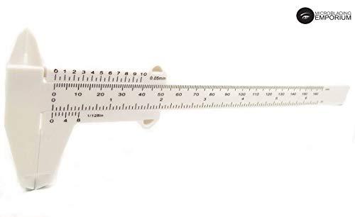 Outil de mesure du sourcil Biomaser Microblading - lot de 1 règle