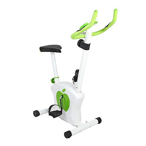 KangHan Bicicleta Estática para Interiores Bicicleta Giratoria Y Manubrio Ajustable Y Asiento Bicicleta Estática Ejercicio En Casa con Resistencia, Asequibilidad De 150 Libras