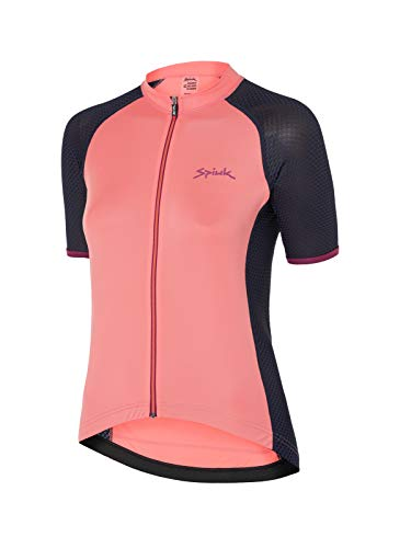 Spiuk Race Maillot M/C, Mujeres, Coral, T. M