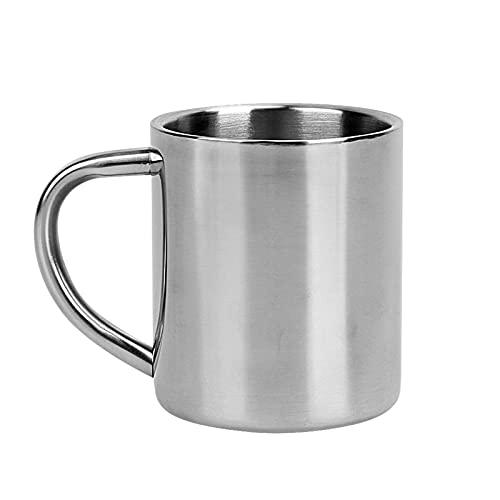 YKW 220ml Taza de Acero Inoxidable de la Taza de la Pared de la Pared Tazas de Viaje Tazas de té Tazas de té Tazas de té Tazas de Viaje Tazas de Viaje