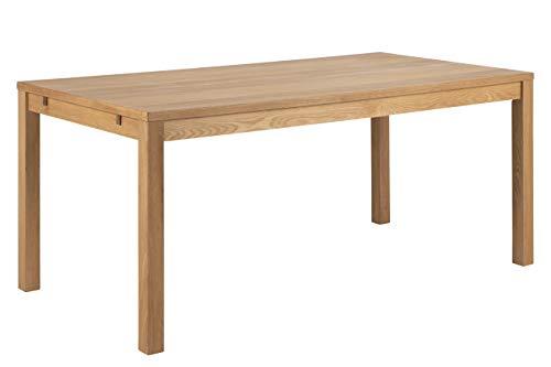 AC Design Beyza Esstisch, Eiche, Holz, B: 180 x H: 76,5 x T: 90 cm, 1 Stück
