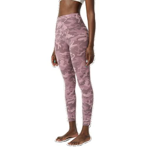 QTJY Leggings Push-up de Camuflaje Pantalones de Yoga Fitness para Mujer Cintura Alta Sentadillas Gimnasio Deportes Leggings para Correr al Aire Libre C S