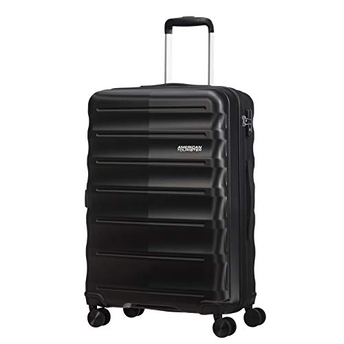 American Tourister MTO Speedlink 4 Wheel Medium Suitcase - 67cm - Black