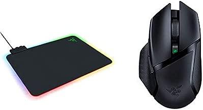 Razer Firefly V2 Gaming Mousepad + Basilisk X Hyperspeed Gaming Mouse Bundle