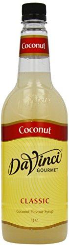 DaVinci Gourmet Classic Coconut Syrup Pet, 1er Pack (1 x 1 l)