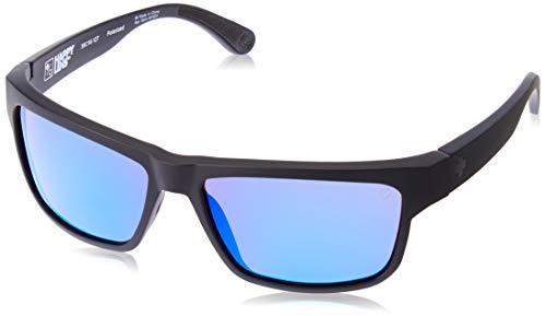 Spy Sonnenbrille Frazier, Matte Black-Happy Bron Polar W/Blue Spectra, One Size, SPYGLA_FRA