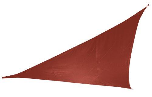 Doppler 493408831 Sonnensegel Alupro Dreieck 5 x 5 x 5 m, terracotta