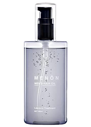 MENON ヘアオイル メンズ 洗い流さない 100mL 約2カ月分 くせ毛 ダメージケア 寝癖 ねぐせ直しウォーター 人気 の トリートメント メノン