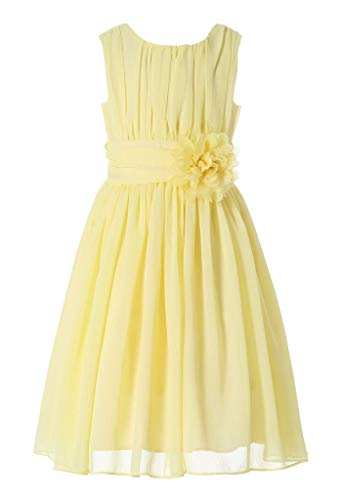 Bow Dream Little Girls Ruffle Dress