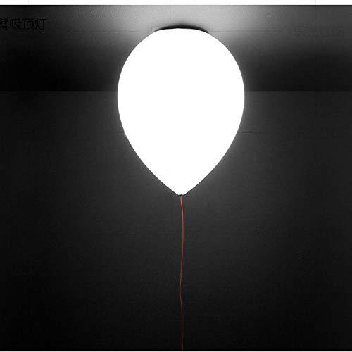 CUIX Luz de Techo del LED, Placa de Bola Colgando la luz de la lámpara Pendiente Moderna nórdica de Pasillo balcón Barra de Pasillo Personalidad Creativa casero Cristal Decoracion,20cm
