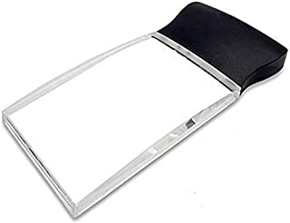 Magnifier 3LED Magnifying Glass for Reading 2X Rectangle Super Lightweight Magnifier for Reading Maps - Jeweler Watch Repa...