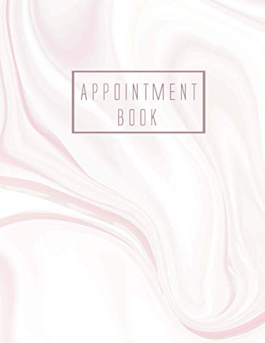 Appointment Book: 8 Column Appointment Book for Salons, Spas, Hair Stylist, Daily and Hourly Schedule Notebook, Appointment Scheduling Book, Salon ......