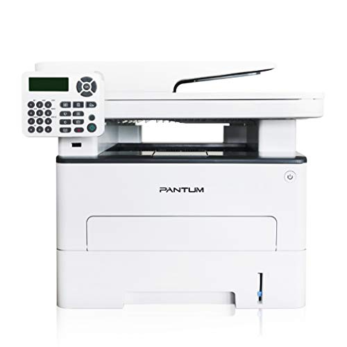 Pantum M6802FDW Wireless Monochrome Laser Printer Scanner Copier Fax All-in-One, Wireless Networking and Duplex Printing for Home and Small Office Use