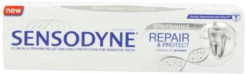 Sensodyne Reparatur und schützt Bleaching Zahnpasta 75 ml 3er Pack