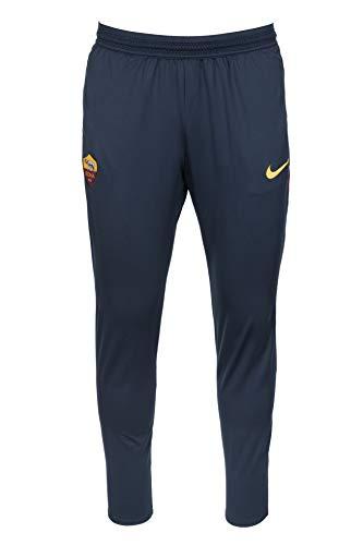 Nike Roma M Nk Dry Strk Pant KP, Herren M Mehrfarbig (dark obsidian / university gold)