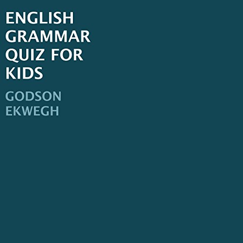 English Grammar Quiz for Kids audiobook cover art