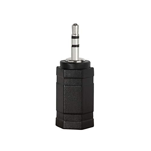 LogiLink CA1103 Stereo Headset Adapter (3,5 mm Buchse auf 2,5mm Klinke) schwarz
