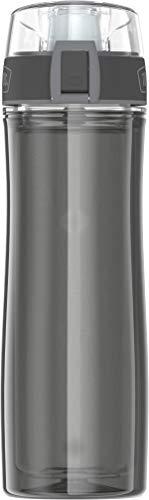 THERMOS 4025.235.053Botella Tritan, Doble Pared, 0,53l, plástico, Smoke, 7x 7x 24,8cm