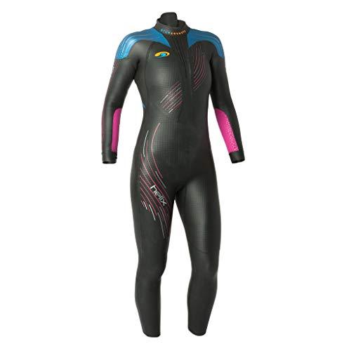 blueseventy 2019 Damen Helix Triathlon Neoprenanzug – zum Schwimmen im offenen Wasser – Ironman & USAT genehmigt, Damen, schwarz, WLA