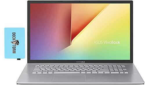 "ASUS VivoBook 17 Home & Business Laptop (Intel i7-1065G7 4-Core, 16GB RAM, 1TB SSD, Intel HD 610, 17.3"" HD+ (1600x900), WiFi, Bluetooth, Webcam, 1xUSB 3.2, 1xHDMI, SD Card, Win 10 Home) with Hub"