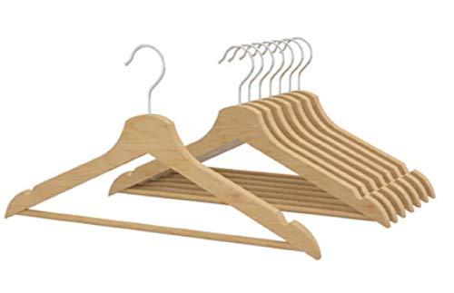 IKEA 8-er Set Holz-Kleiderbügel