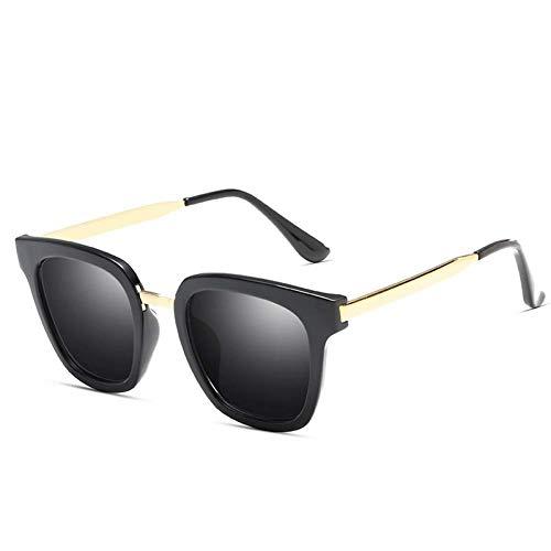 BOC Sonnenbrille-Damen Brillen runde Rahmen Sonnenbrillen-Rugged und Klappbrille-Sonnenschutz-Gläser UV-Schutz für den Außenbereich