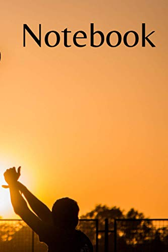 Notebook For Lover Basketball Sunset 110 Pages 9x6 inches: Notebook For Lover Basketball Sunset