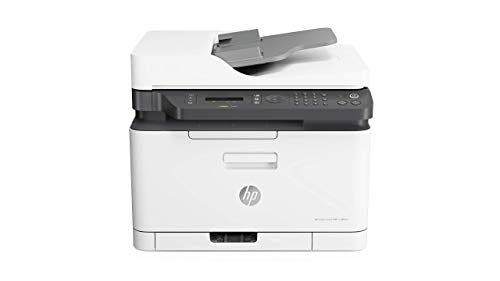 HP Color Laser 179Fnw Wireless All in One Laser Printer with Mobile Printing & Built-in Ethernet (4ZB97A) (Renewed)