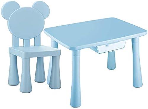 Kinder Lernen Tisch Lernspieltisch kann das Kinderzimmer Cartoon Spielzeug Tisch erh n das Gewicht von 250 kg standhalten (Farbe   Rosa)