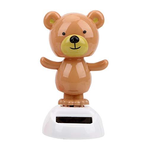 Maxiorui Schommel Bobble Pop speelgoed binnen accessoires dashboard decoratie auto zonne-energie stroomvoorziening zoete beer dans speelgoed