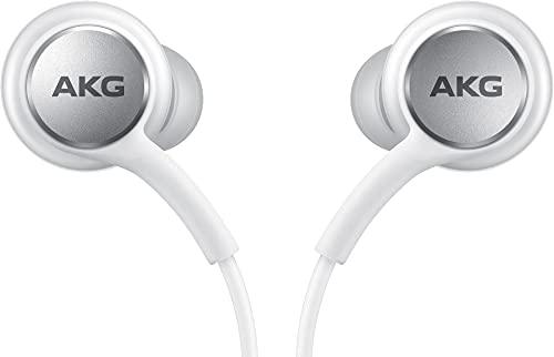 Samsung In-Ear Kopfhörer 'EO-IC100' mit USB Type-C und verwicklungsarmen Gewebekabel, Sound by AKG, Weiß