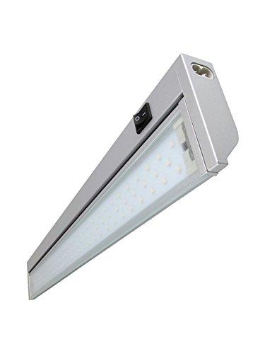 Rolux LLH-201 LED Unterbauleuchte Küchenleuchte schwenkbar Aluminium 5,4 Watt 3.000K, 575mm