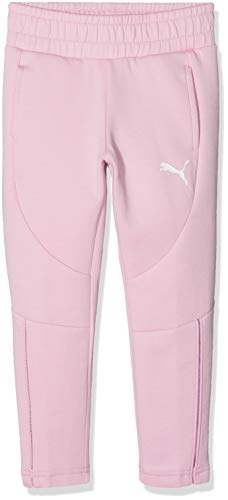 PUMA Mädchen Evostripe Move Sweat Pants G Jogginghose, Pale Pink, 164