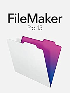 FileMaker Pro 15 Retail Full Version for Windows and Mac