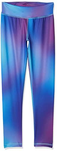Amazon Essentials Big Girls' Full-Length Active Legging, Ombre Purple, M