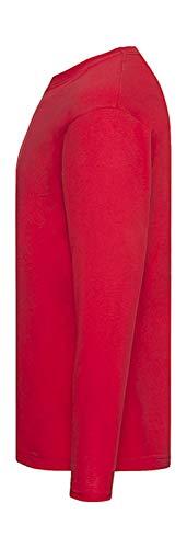 """Camiseta de manga larga con diseño de golosinas y texto en inglés """"Lollipop"""" (manga larga) rojo 128"""