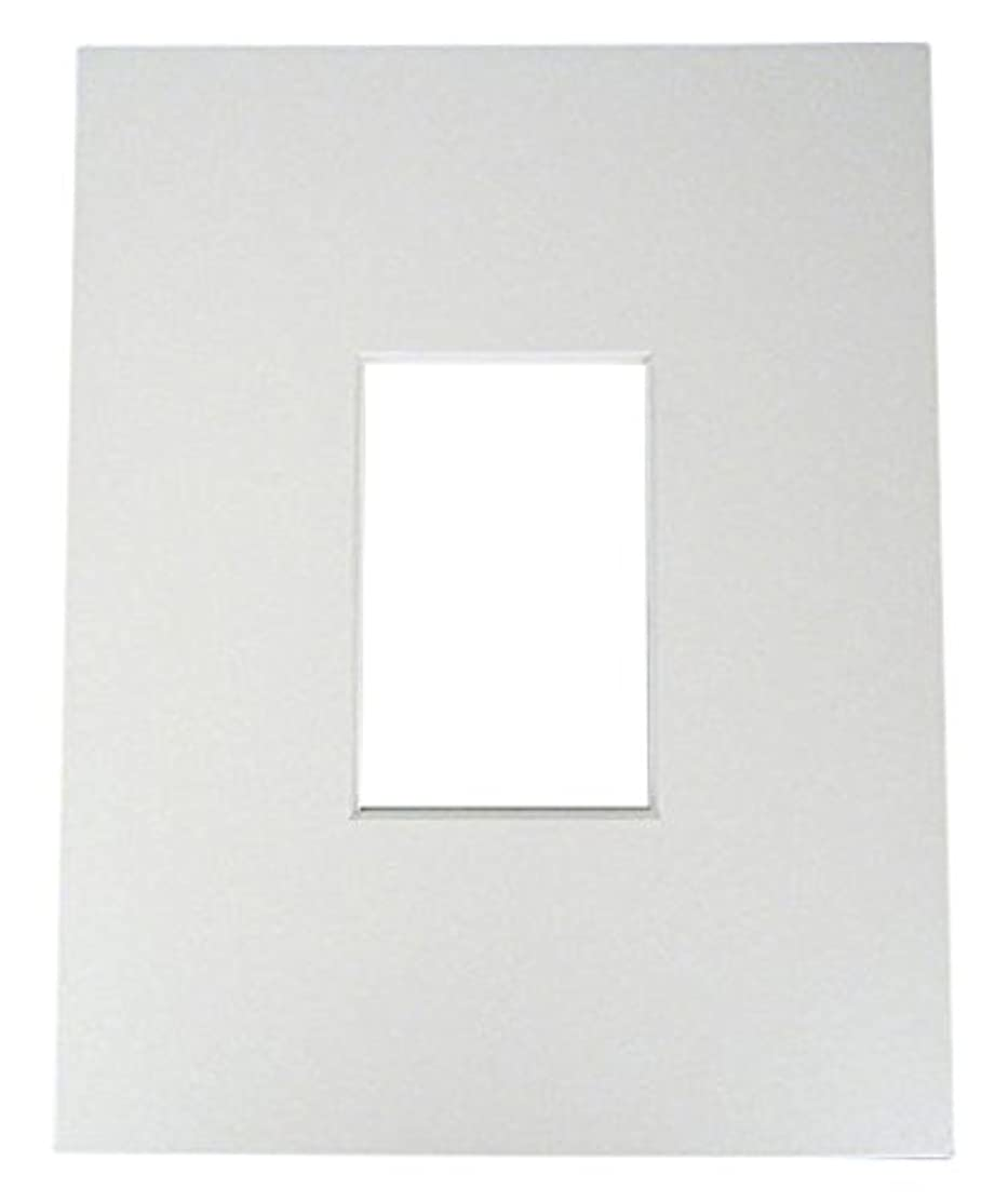 20 11x14 4-ply Mat White for 4x6 Photo + Backing + Bags