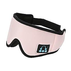 Son apaisant haute fidélité : les masques de sommeil Wewow sont dotés d'un son HiFi HD et de la dernière technologie Bluetooth 5.0 qui produit une excellente qualité sonore pour le bruit blanc, le bruit rose, le bruit marron et la musique, aident à b...