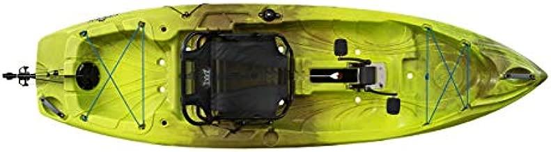 Perception Kayaks Crank 10 | Sit on Top Pedal Kayak | Adjustable Lawn Chair Seat | 10' | Grasshopper (9351800177)