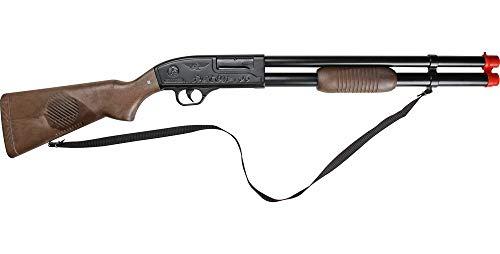 Das Kostümland Gonher 106/6 Schrotgewehr Pumpgun zum Special Agent Kostüm - Spezialeinheit Spielzeugwaffen Polizei Polizist Pistole FBI Karneval Fasching Theater