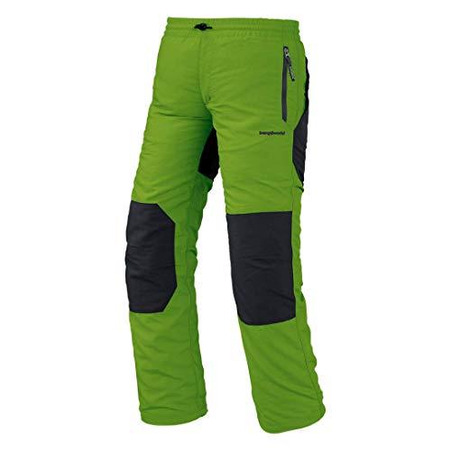 Trango Saja Sn Pantalones Largos, Unisex niños, Verde/marrón Oscuro, 04/XXS