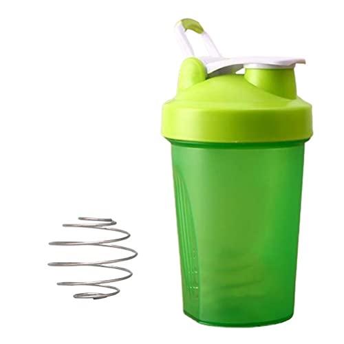 Urisgo Calabaza Deportiva, Botella de Agua Impermeable Reutilizable 400 ml con hervidor Anti-Fuga para Fitness Gimnasio Oficina de Viajes fútbol