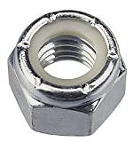 Stainless Nylon Insert Lock Nuts 1/4