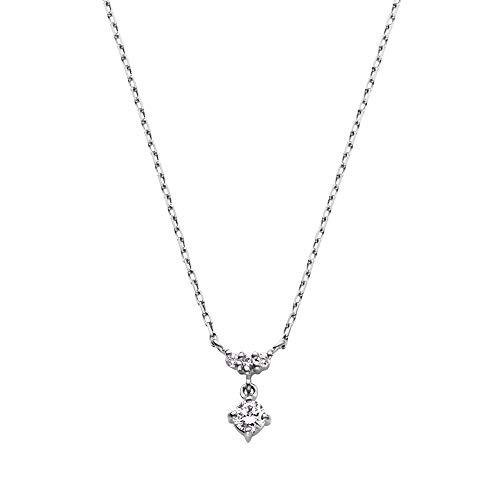 [VAヴァンドーム青山] ダイヤモンド 0.06ct プラチナ Pt900 ネックレス GPAN008640DI