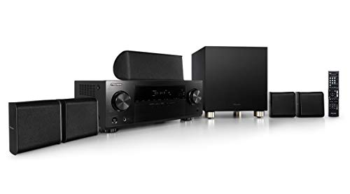 Pioneer HTP-074-S - Pack Receptor A/V y Altavoces (con 4K Pass Through y Altavoces con Audio HD)
