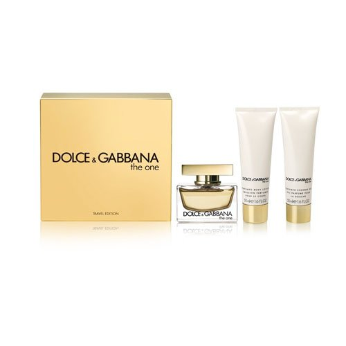 Dolce and Gabbana The One for Women 3 Pc Gift Set