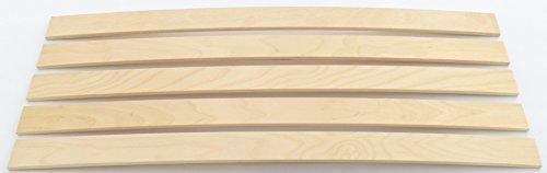 BOSSASHOP.de 5X Neue Federholzleisten | Ersatz Latten Leisten | Lattenrost reparieren | 8x63x837mm