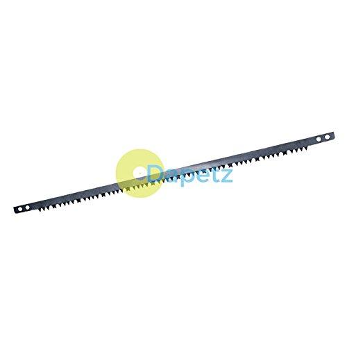 Daptez®/Bow Lame de scie d'élagage – 525 mm en acier carbone Pince coupante de bordure de Bush de jardin