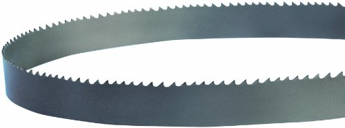 Lenox QXP Vari-Raker Band Saw Blade, Bimetal, Regular Tooth, Raker Set, Positive Rake, 144' Length, 1-1/4' Width, 0.042' Thick, 2-3 TPI